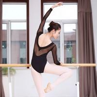 Sexy Black Ballet For Women Pure Cotton Black Ballet Dancewear Adult Gymnastics Leotard Dance Practice Clothing