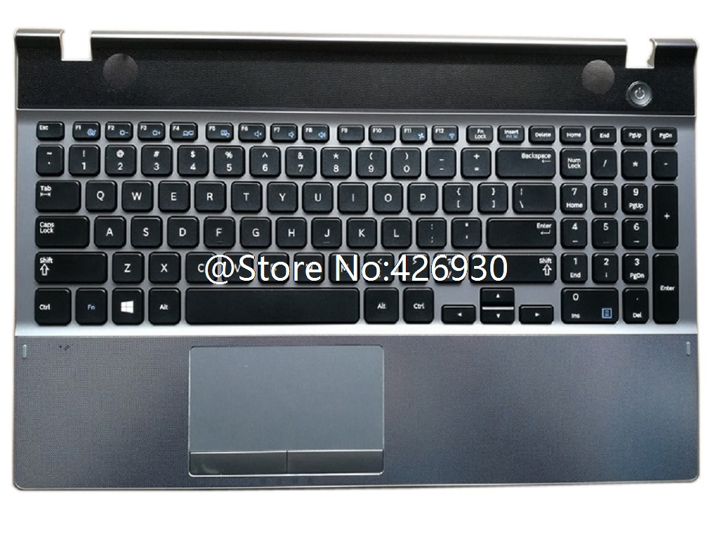 GAOCHENG Laptop PalmRest/&Keyboard for Samsung SF410 QX410 Korea KR White with Touchpad
