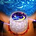 Светодиодный ночник  звездное небо  Волшебная звезда  луна  планеты  Лампа для проектора  USB  на батарейках  Luminaria  детский свет для подарка на ...