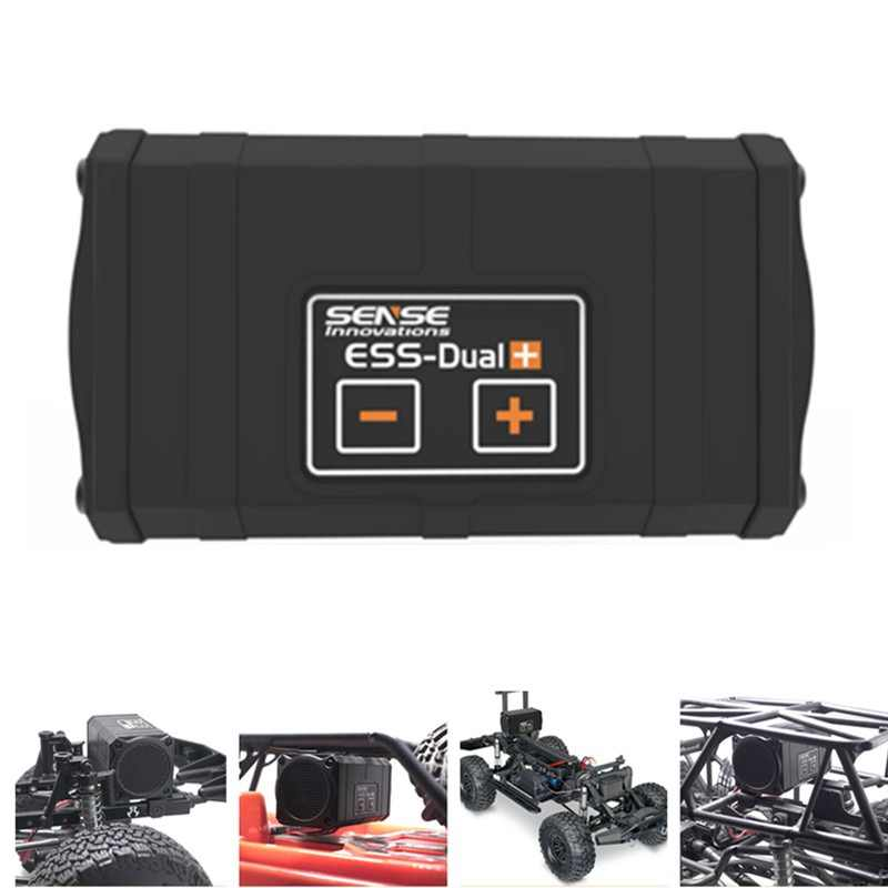 Sense Innovations ESS-DUAL 2 SPEAKERS Engine Sound Simulator For RC Car Axial SCX 10 II WRAITH Traxxas TRX4