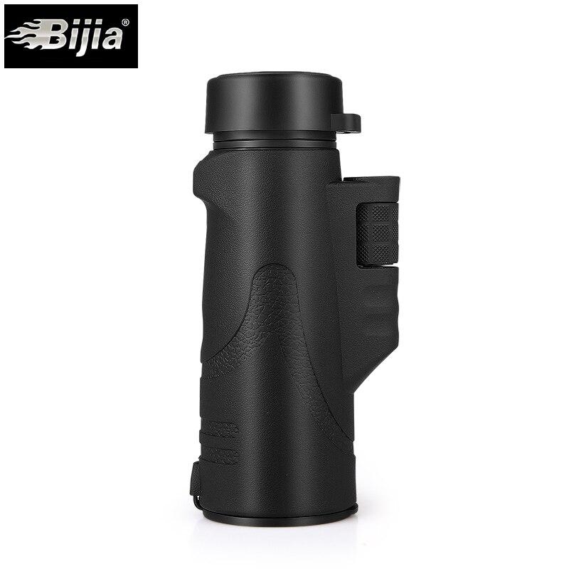 BIJIA 10x42 Monocularteleskop Wasserdicht BAK4 Prisma ein-schlauch Nachtsichtteleskop 126 mt/1000 mt für Vogelbeobachtung