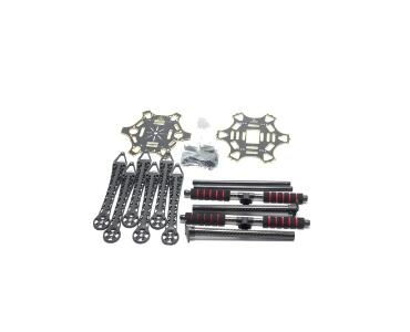 S550 550 Upgrade Hexacopter Frame Kit with Unflodable Landing Gear for FPV