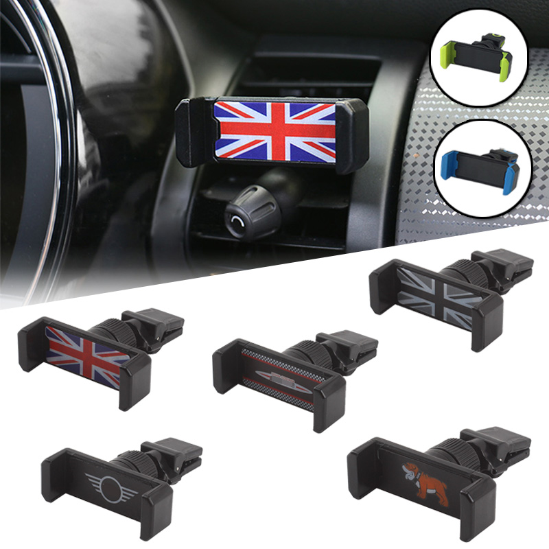 2 Universal Car Interior Union Jack Air Outlet Clock Decoration for Mini Cooper JCW S F55 56 F60 R55 R56 R60 Countryman