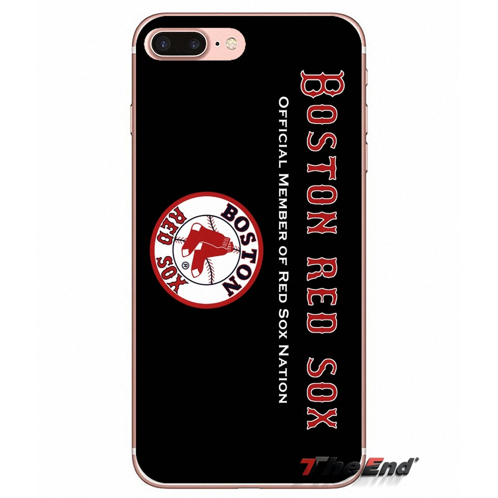 Boston Red Sox Baseball Logo Print Transparent Soft Cases Covers For Nokia 7 Plus 3 5 6 8 9 2018 2017 3310 21 31 51 In Half Wrapped Case From