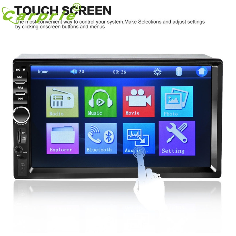 ФОТО car-styling 7 In 2Din Car Stereo MP5 MP3 Player Touch Screen FM Radio USB SD Bluetooth dec 26