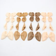resin ears for blyth doll icy decorate custom skin tone white,black,normal,tan,super dark skin(China)