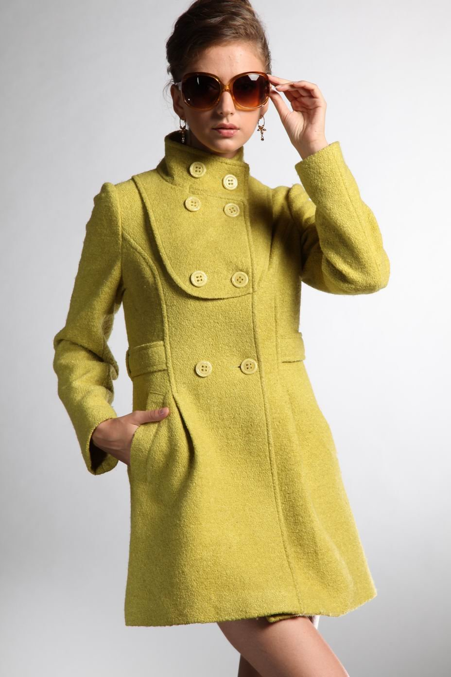 d6f9e52bc BJ769 2011 newest hot sale women s coat (order)-in Wool   Blends from  Women s Clothing on Aliexpress.com