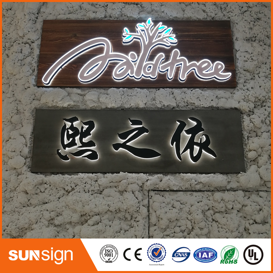 sunsignad Store Aliexpress signshop crystal Acrylic alphabet letter sign with led light