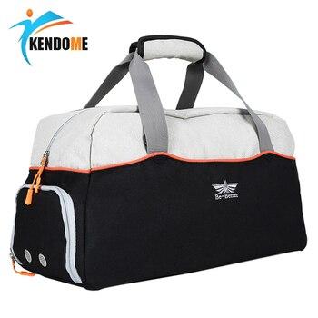 Hot Large Multi-function Sports Gym Bag With Shoes Pocket Men Training Shoulder Bag Women Fitness Outdoor Travel Handbag