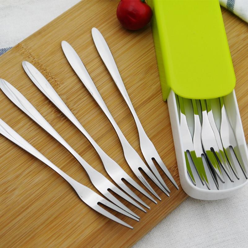 10pcs Cartoon fruits décoratifs fourchettes forme d/'oeil pics alimentaires