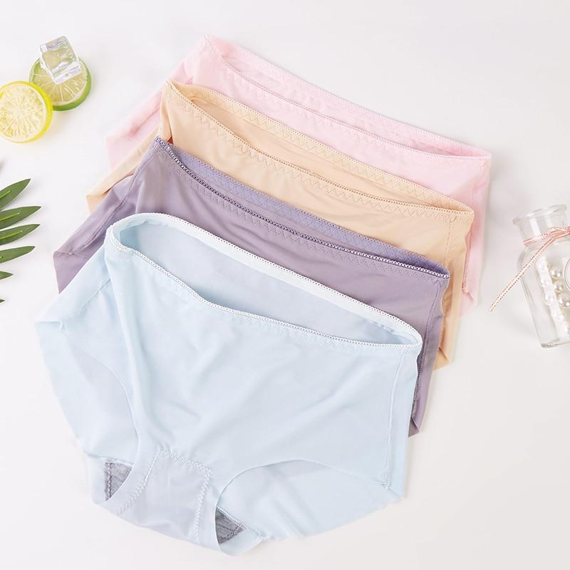 Hot Sale Summer Underwear Pregnancy Women Sexy Ladies Girls Seamless Panties Briefs Intimates Comfortable
