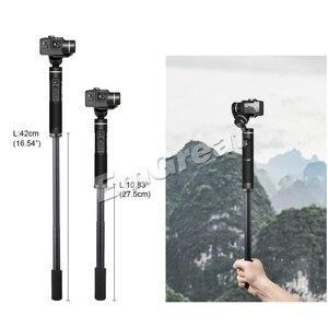 Image 3 - Pergear rallonge bâton 27.5cm ~ 42cm pour DJI Osmo Mobile 2 Zhiyun lisse 4 lisse Q Feiyutech G6 G5 V2 WG2 cardans avec 1/4 vis