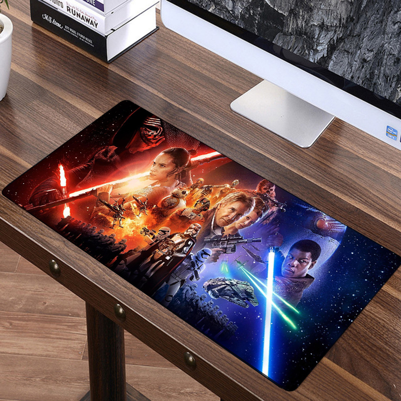 FFFAS 70x30cm Star Wars Force Unleashed Big Mouse Pad Large Super Speed Mousepad America Fashion Laptop Notebook Keyboard Mat XL unleashed cd