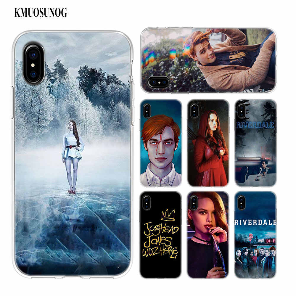Transparent Soft Silicone Phone Case Riverdale Season Style for iPhone XS X XR Max 8 7 6 6S Plus 5 5S SE