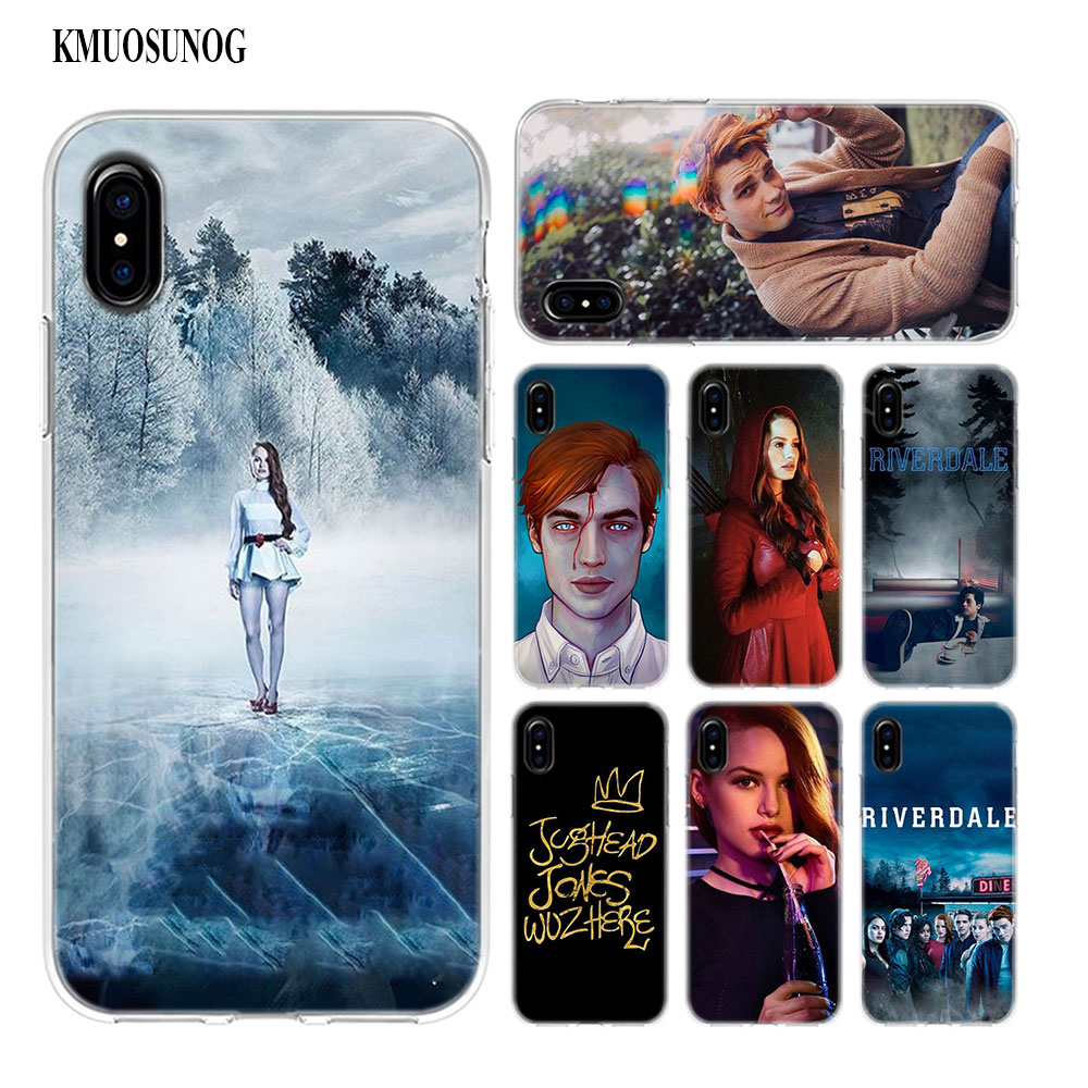 Transparent Soft Silicone Phone Case Riverdale Season