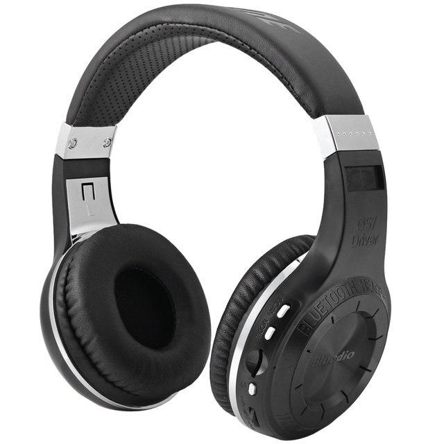 Bluedio H + Турбины Беспроводной Стерео Bluetooth 4.1 с Микрофоном Повязка для телефона Поддержка TF Карт