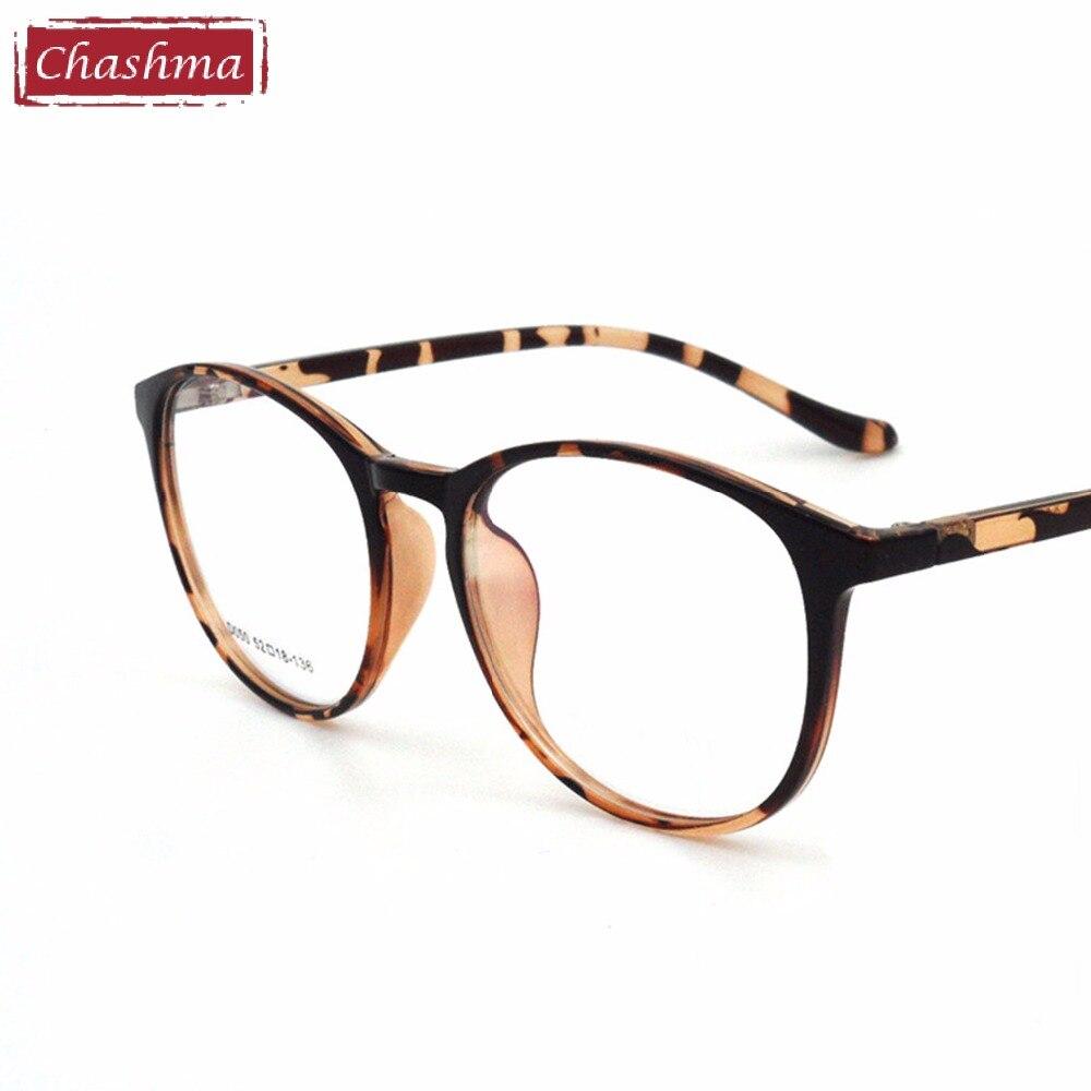 4130887b7ab5a Chashma Marca Coréia Homens Elegantes e Mulheres Vidros do Olho Do Vintage  Rodada Óculos de Armação Preta Quadro para Senhora Elegante em Armações de  óculos ...