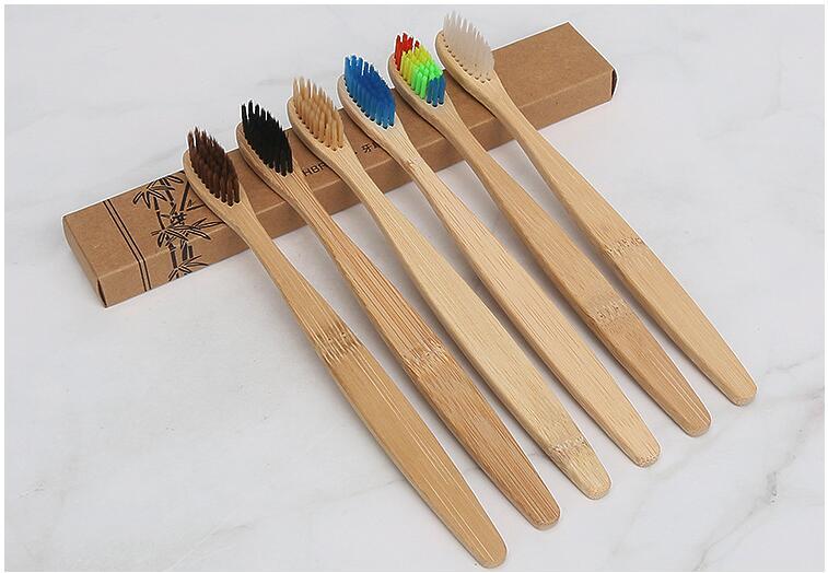 Bambu escova de Dentes escova de Dentes Oral Care Eco