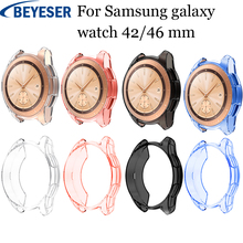 Tpu Protective Case Cover Shell For Samsung Galaxy Watch 46mm Smart Accessories Frame Cases watch 42mm