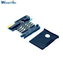 6 PIN GSM 3G karty SIM gniazda gniazdo do SIM908 SIM900 moduł