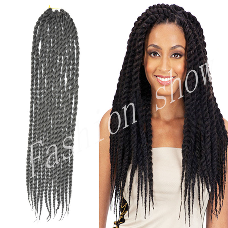 Benefits Of Crochet Box Braids : ... Crochet Hair 22inch1b100g Extensions Braiding Senegalese Braids