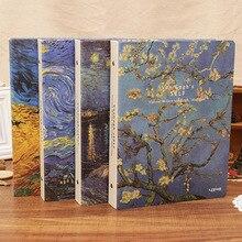 Блокнот Ван Гог иллюстратор планировщики Bullet Journal канцелярские товары сменная книга деловая запись встречи А5 бумажный дневник блокнот