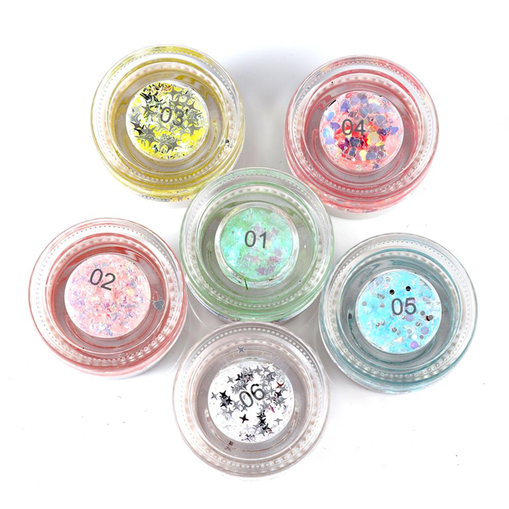 Eye Shadow Beauty & Health Adroit 1 Bottle Mermaid Sequins Gel Glitter Eyeshadow Makeup Cosmetic Mixed Paillette For Face Body Hair 998 At All Costs