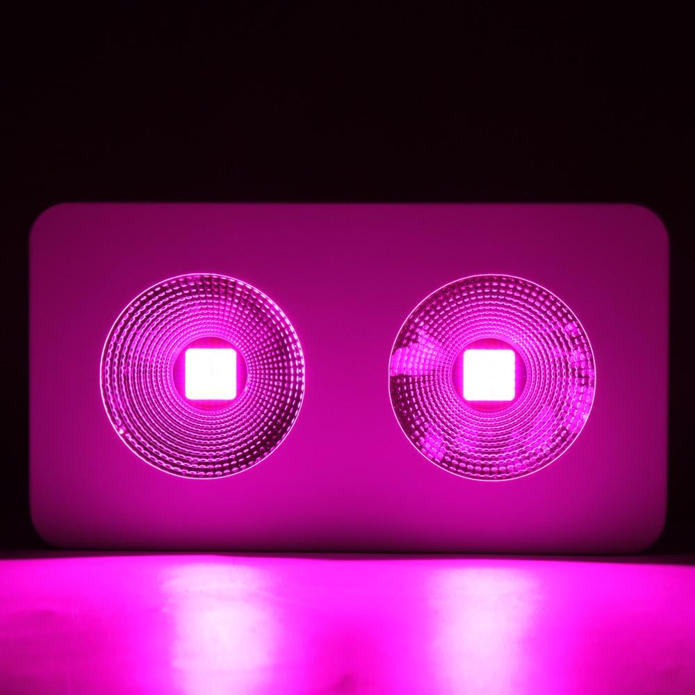1pcs Full Spectrum COB Reflector Led Grow Light 600W 1200W 1800W Growth&Bloom/Flower 2 Switches 11Band Plant Grow Light