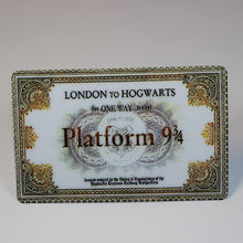 harri potter 9 3/4 Platform Ticket London To Hogwarts card stickers for bank card bus card dining card decoration accessories(China)