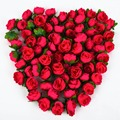 100pcs Rose Artificial Silk Flower Heads Wedding decoration Craft optional color