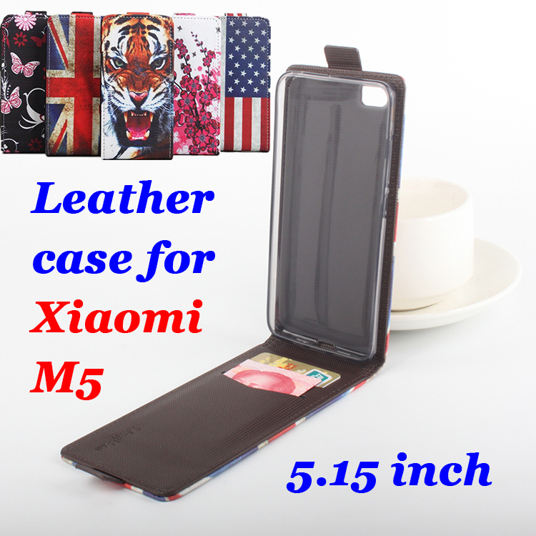 Tiger Dipinta Per XiaoMi M5 Cassa Del Telefono di Alta Qualità del Cuoio di  Vibrazione Covers 5.15 Pollice Per XiaoMi5 Cellulare Casi Il Trasporto  Libero dbadc5826bb0