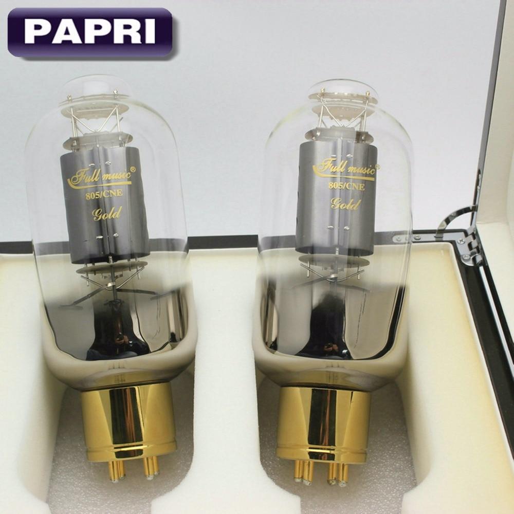 Free shipping TJ Fullmusic 805/CNE Vacuum Tube Socket 805 AMP Tube Carbon Plate,factory matched pair 2PCS