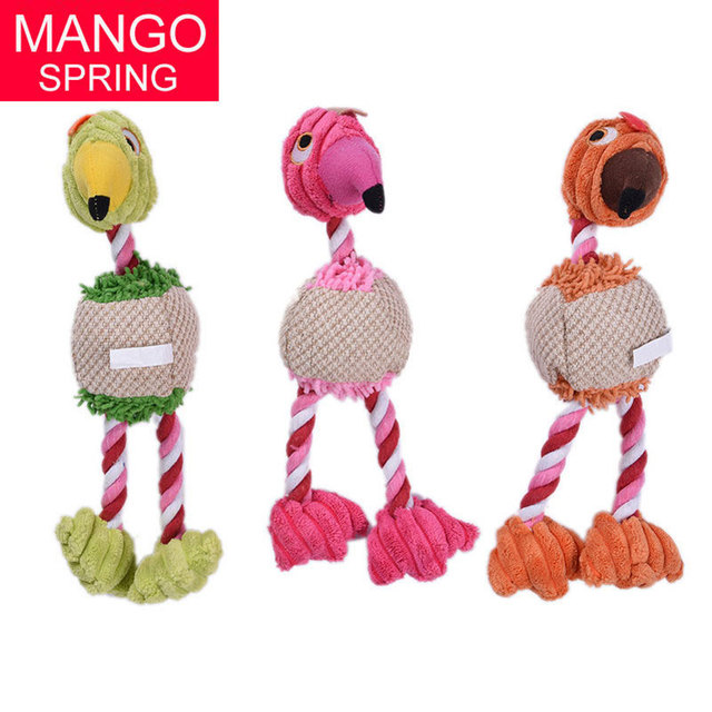 US $3 9 |Pet Toys Bird Duck Shape Plush Puppy Dog toys Cat Squeaker Toys  Pets Interactive Chew Sound Toys 3 Colors Support Wholesale-in Dog Toys  from