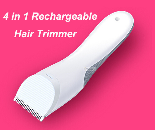4 in 1 Electric Rechargeable haircut trimmer machine for trimming hair clipper shaver razor salon barber cutting styling tools kemei km 619 rechargeable hair clipper electric shaving machine razor barber cutting beard trimmer haircut set cordless black