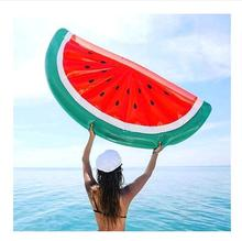 ring water toyFruit  Inflatable Watermelon Kid Toy Swam Outdoor Children Float Swan Ring Summer Holiday Water Fun