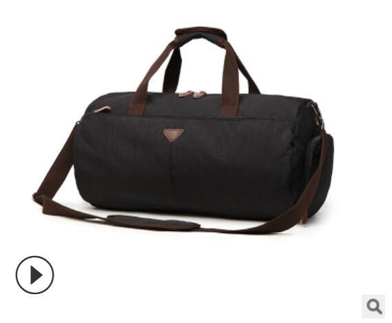 ZUOLUNDUO Man Travel Bag Large Capacity Men Hand Luggage Bag Travel Duffle Bags Men Bucket Bags Handbag Men Canvas Travel Totes
