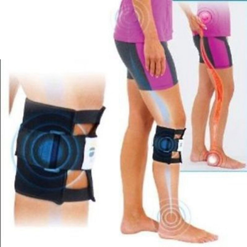 Free shipping New Therapeutic Beactive Brace Point Pad Leg Black Presssure Brace Acupressure Sciatic Nerve цены