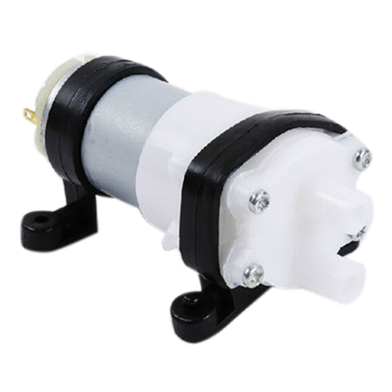 12v Diaphragm Pump 385 Diaphragm Pump Water Dispenser Pumps Food-grade 1.5-2L/m