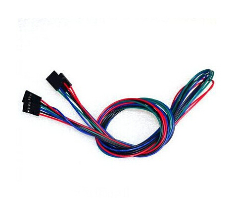 1pcs 70cm 4pin F-F Dupont Line Female To Female Cable For 3D Printer Parts