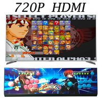 960 In 1 Games Pandora Box 5 Joystick Arcade 2 Players Game Console KOF Stickers Video