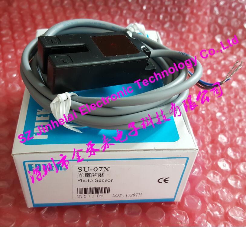 100% New and original FOTEK U type Photoelectric switch SU-07X 100% new and original fotek photoelectric switch a3r 2mx free power photo sensor