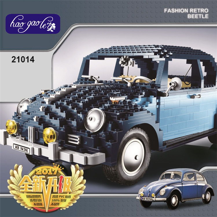 1707Pcs Lepin 21014 Technic Classic Series The Ultimate Beetle Set children Educational Building Blocks Bricks Toys Gifts 10187 1707pcs new lepin 21014 classic beetle model car building kits blocks bricks for children christmas gifts legoinglys 10187