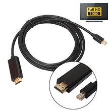 1.8m Mini DisplayPort DP to HDMI Cable Adapter 1080P Male to Male DP to HDMI Cord Wire For Macbook Pro Air Apple Mac Projector цена и фото