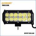 """Auxmart Fichas CREE 7 """"36 W led trabalho leve bar spot beam offroad para reboque de campista wagon 4X4 SUV 4WD ATV 12 v 24 v Car motocicletas"""