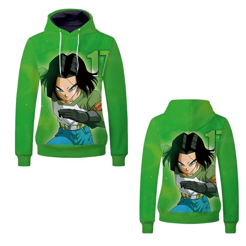 Fans Wear 2019 3D Men Hoodies Dragon Ball Sweatshirt Anime Kagamine Hoodie Printed for Cosplay