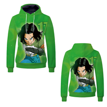 Fans Wear 2019 3D Men Hoodies Dragon Ball Sweatshirt Anime Kagamine Hoodie Printed for Cosplay