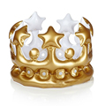 Inflatable Crown Kids Birthday Party Hats Inflated CosPlay Tools Stage Props Kids Best Gift Party Supplies Birthday Party Favors