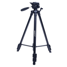 CAMBOFOTO 63-Inch Professional Portable Camera Travel Aluminum Tripod with Carry Bag