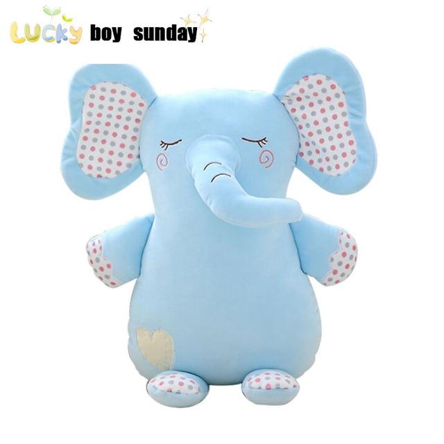 Lucky Boy Sunday Soft Elephant Plush Toy Baby Sleeping Cushion Soft