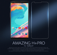 Oneplus 5T Screen Protector NILLKIN H PRO 2 5D Tempered Glass Protective Film For Oneplus 5T